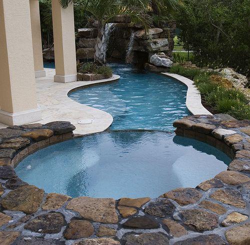 Six Unique Pool Design Ideas Home Improvement Blog Small Backyard Pools Pool Designs Backyard Pool