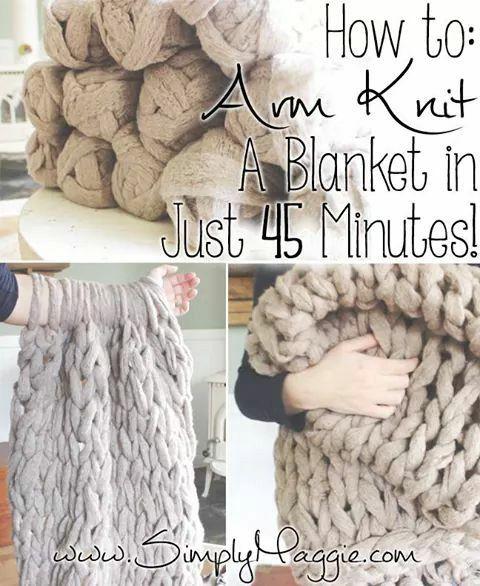 Quick blankets