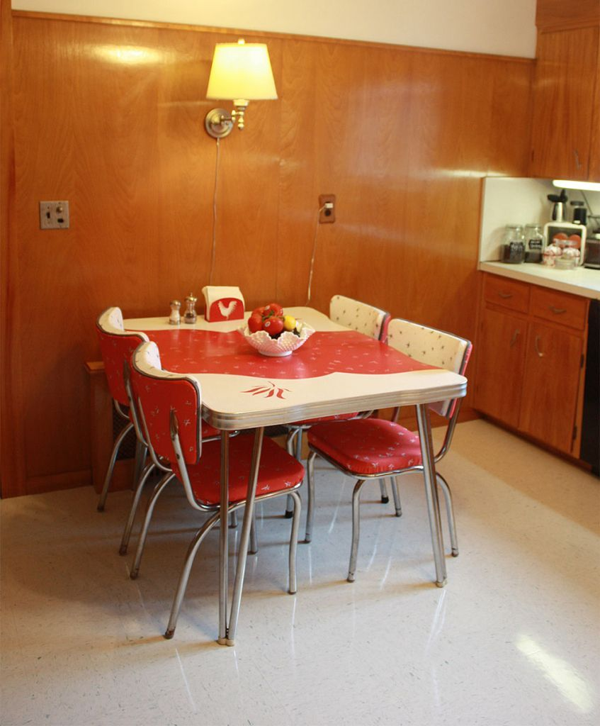 Frances and Doug's warm and inviting restored 1950s wood ...
