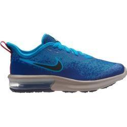 Nike Jungen Sneaker Nike Air Max Sequent 4, Größe 40 In Indigo Force/black-Lt Blue Fury, Größe 40 In