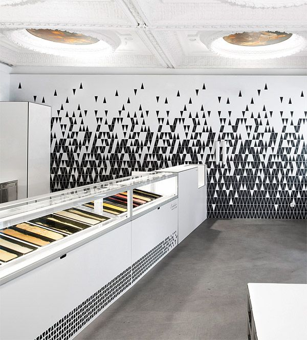 Ice Cream Parlor Branding In Linz, Austria U2013 Commercial Interior Design News
