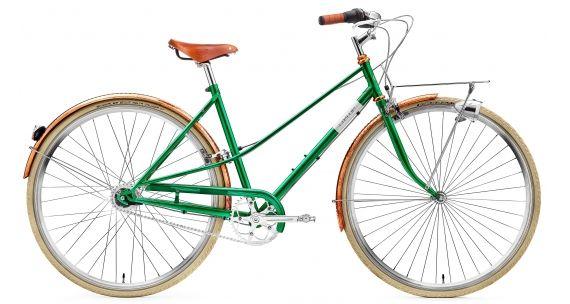 Creme Caferacer Doppio Lady 7 Speed Emerald Green Gunstig Kaufen