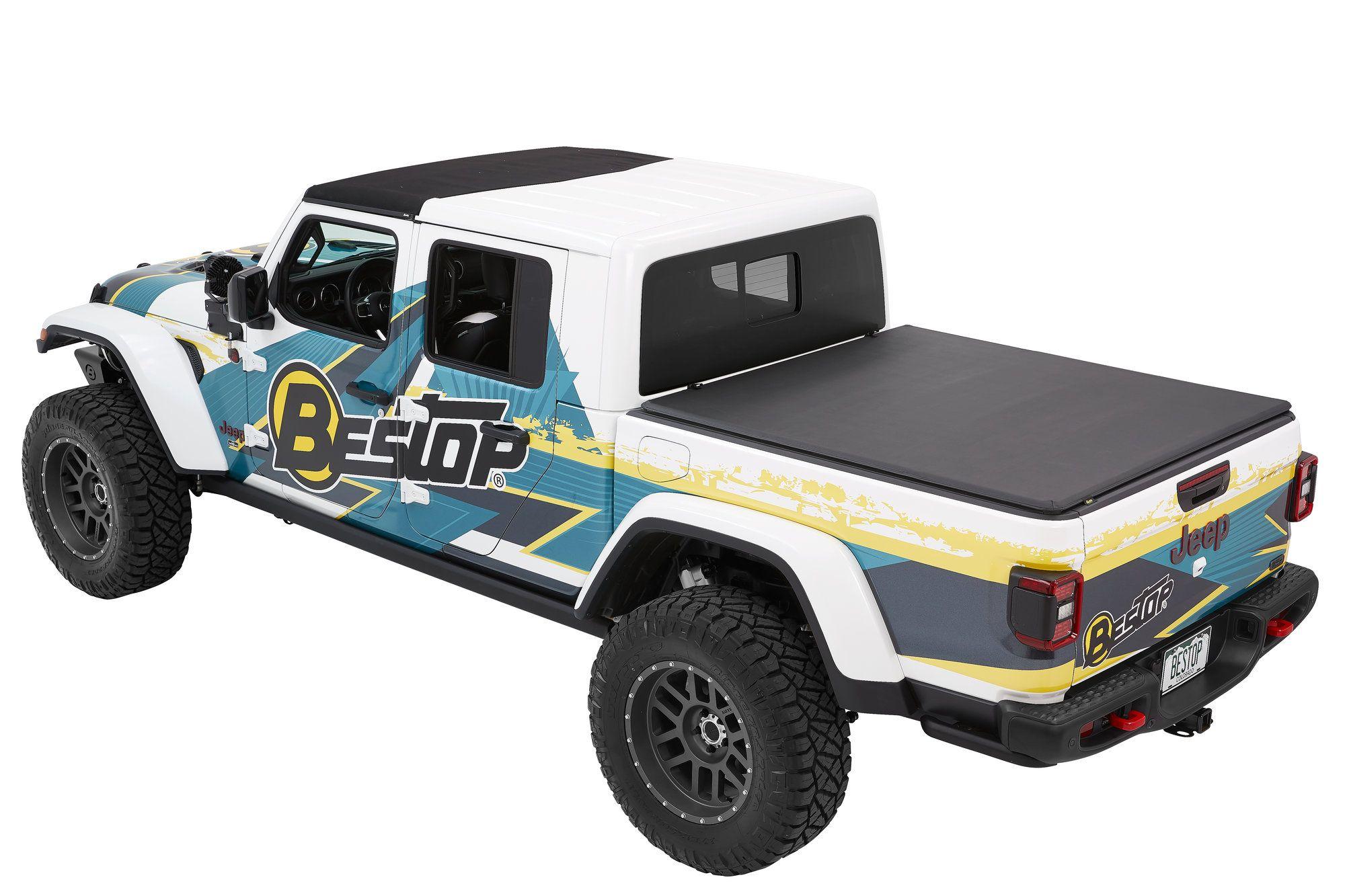 Bestop 1628035 EZFold™ TriFold Soft Tonneau Cover for