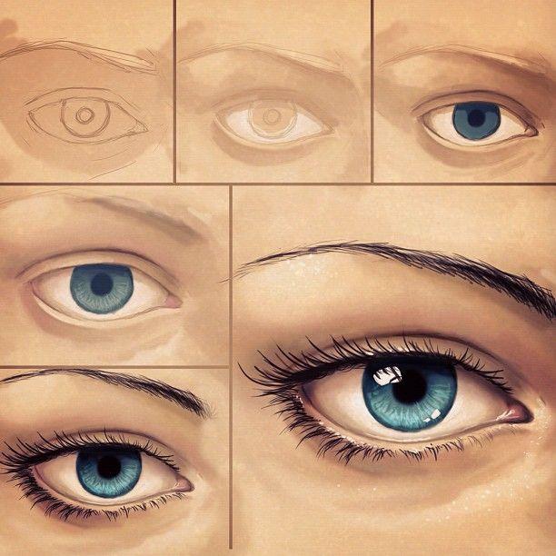 Eye Tutorial Photoshop Photoshop Tutorial Drawing Photoshop Eyes Photoshop