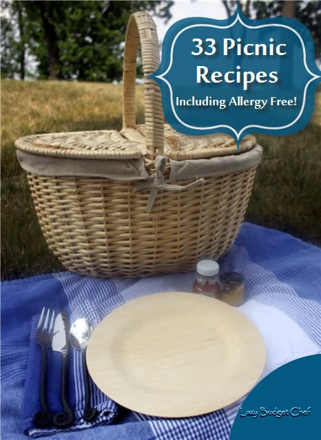 33 Picnic Food Recipes Including Allergy Free! #familypicnicfoods
