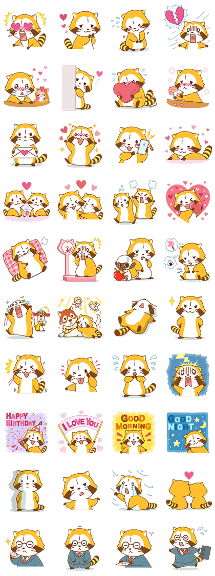 loverascalandfriends.png (420×1121) Cute stickers