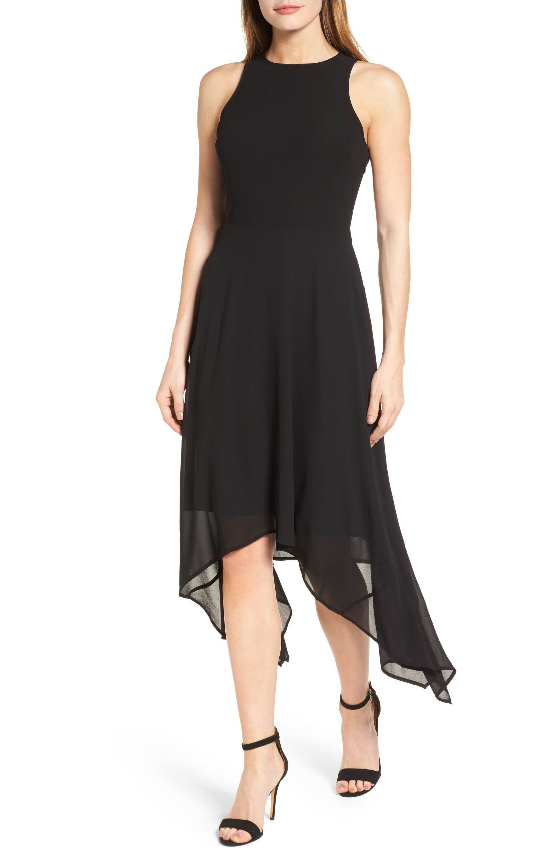 6d1ce416f1a Main Image - MICHAEL Michael Kors High Low Georgette Dress