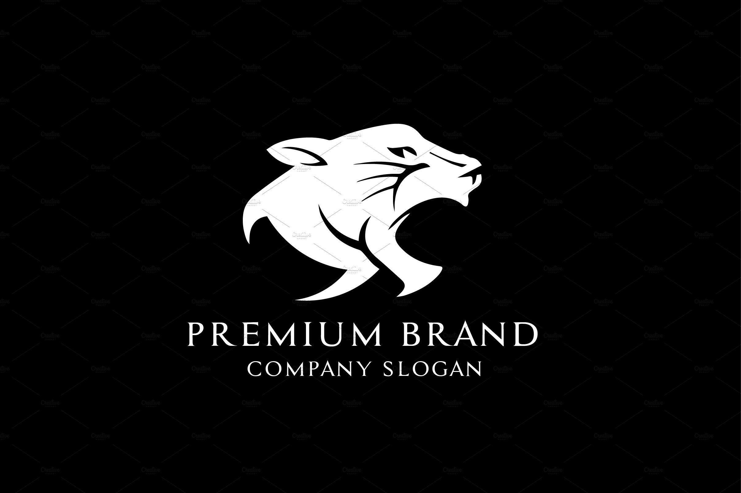 Premium Panther Logo Vector/MockUp Vector logo, Panther