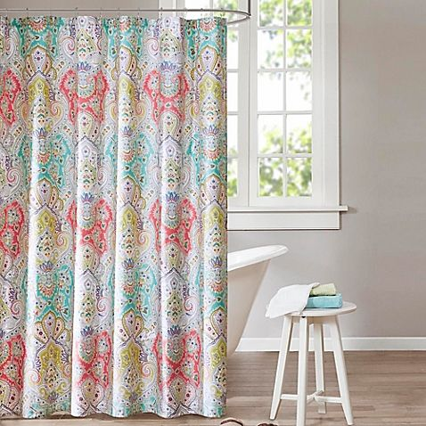 Bring A Beautiful Burst Of Color To Your Bathroom Decor With The Cyprus Shower