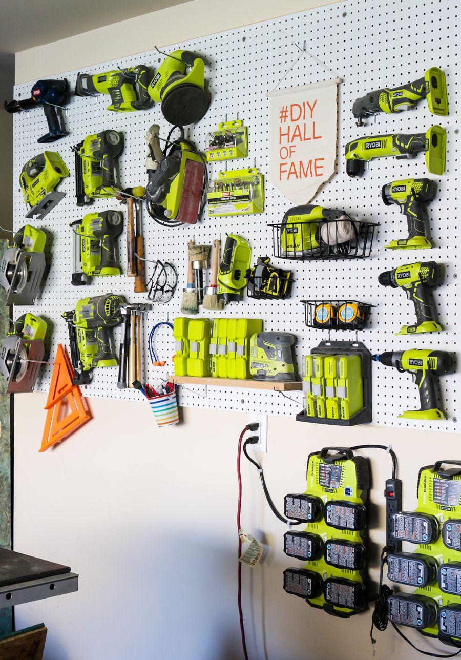 how to organize garage tool ideas | Creative Workshop Organization | #ScrapWorkLove # ...