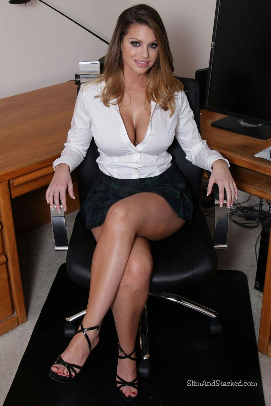 Office porn adriana