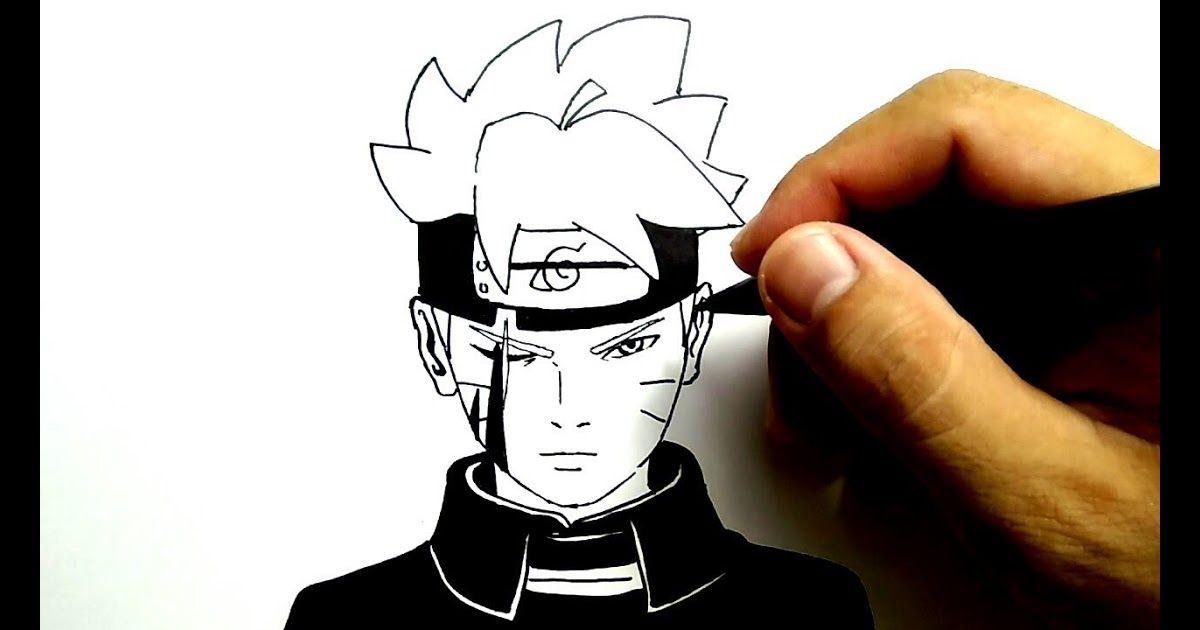 Wow 11 Gambar Pensil Keren Gampang Cara Menggambar Boruto Gampang Sekali How To Draw Boruto Very Easy From Www Youtube Cara Menggambar Gambar Anime Gambar