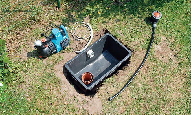Brunnen Bohren Selbst De Brunnen Garten Brunnen Bauen Brunnen
