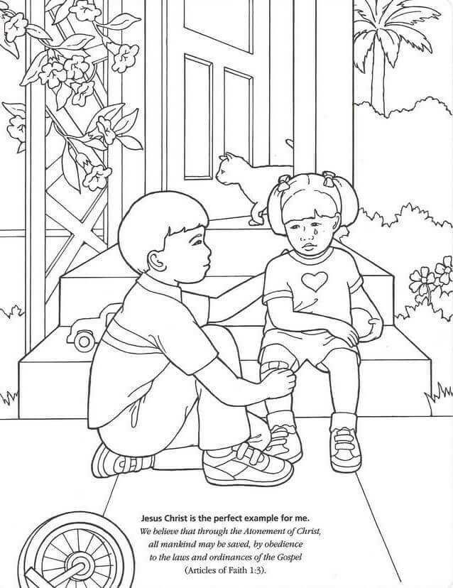 Latter Day Saints Lds Coloring Pages Free Coloring Sheets Lds Coloring Pages Coloring Pages Book Clip Art