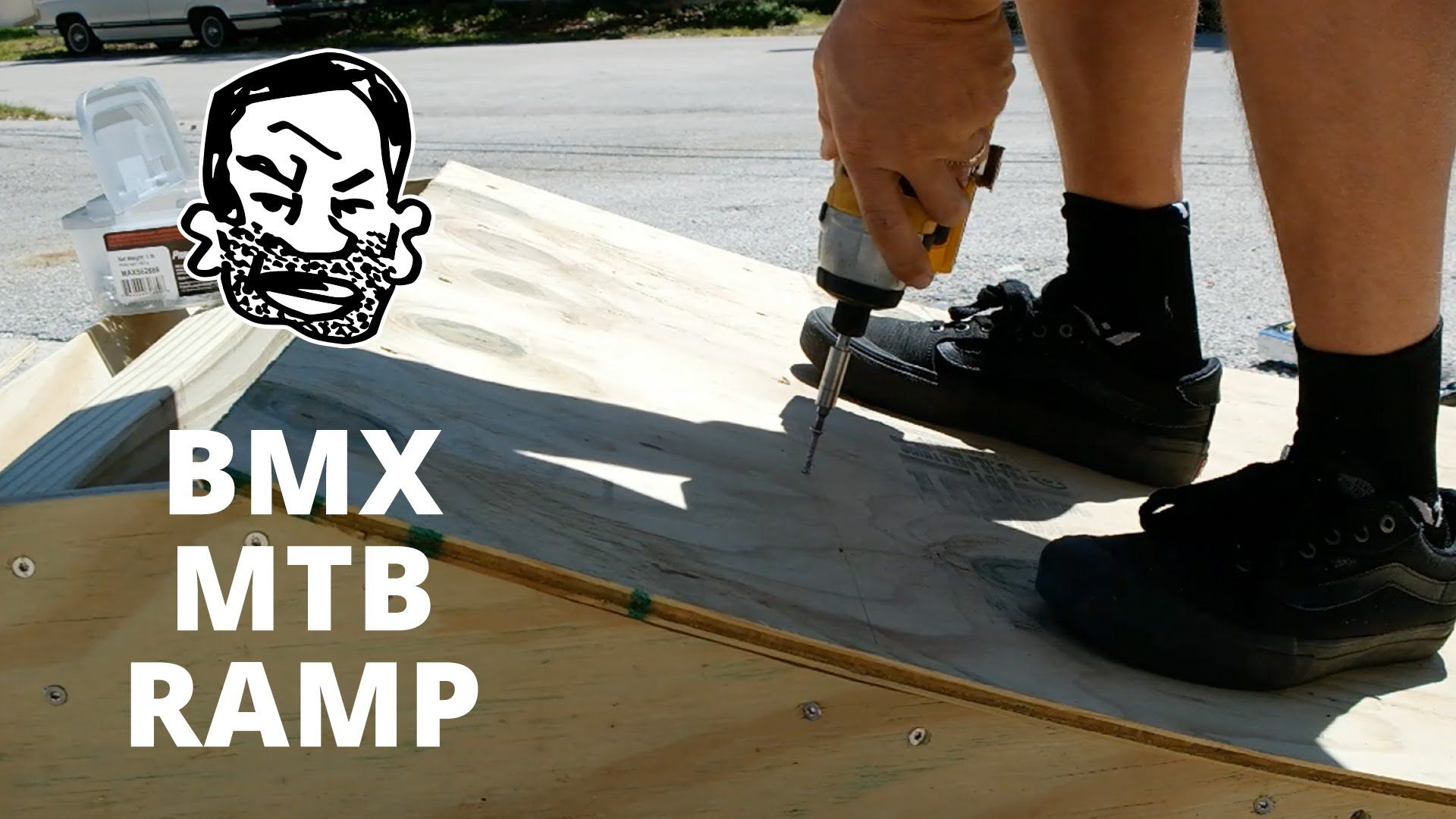 Mini ramp in basement youtube - How To Build A Kicker Ramp For Bmx Or Mtb