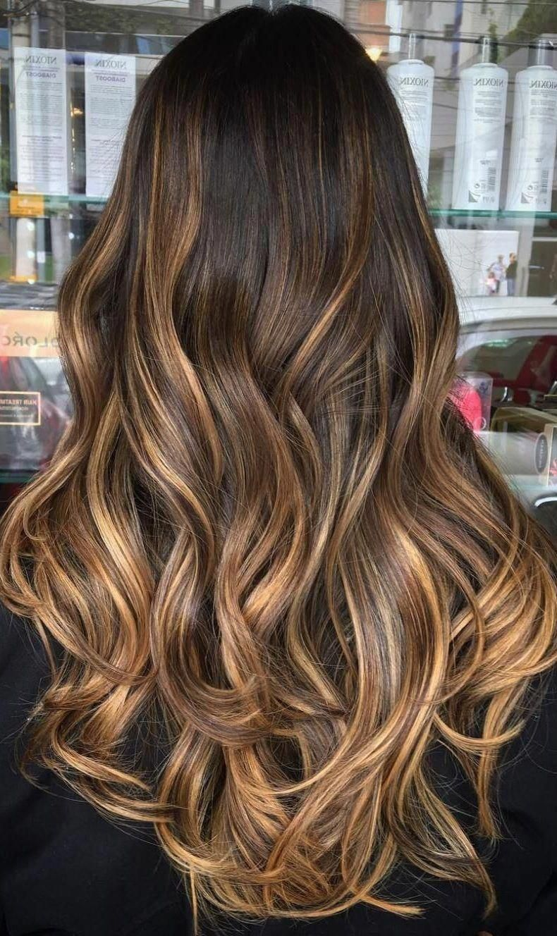 45 Dark Brown to Light Brown Ombre Long Hair Color Ideas - Hair Colour  Style #ombrebrownhair #lightbrownhair | Long hair color, Long hair styles,  Hair styles