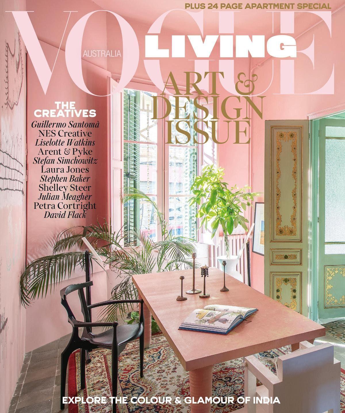 Editor S Letter May June 2018 Vogue Living Vogue Living Interiors Interiors Magazine
