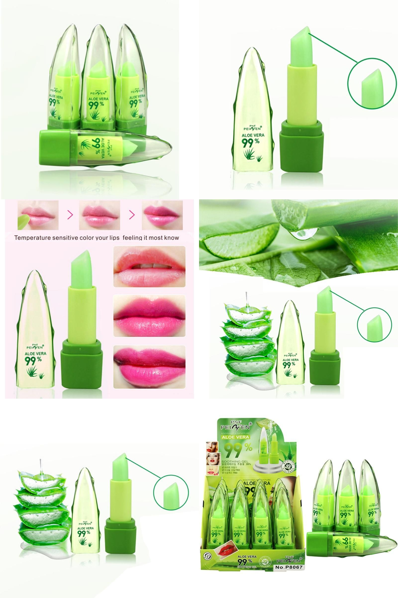 [Visit to Buy] 99 Aloe Vera Essence Lips Long Lasting