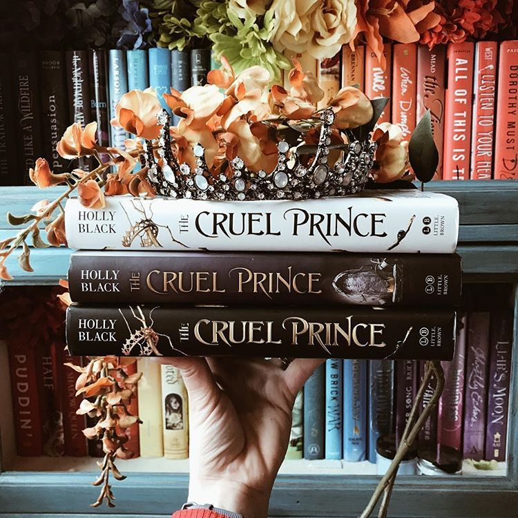 Which Cruel Prince Cover Is Your Favorite It S No Surprise That I M A Huge Fan Of The Cruel Prince By Blackhol Holly Black Books Book Aesthetic Book Blog