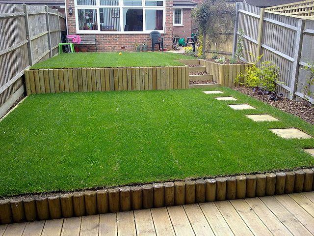 Terracing a sloping garden   Sloped garden, Sloped ... on Patio Ideas For Sloping Gardens id=57724