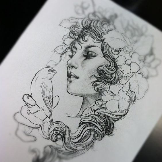 b9d120d500a05 neo traditional drawings - Buscar con Google …   body art/tattoo ...