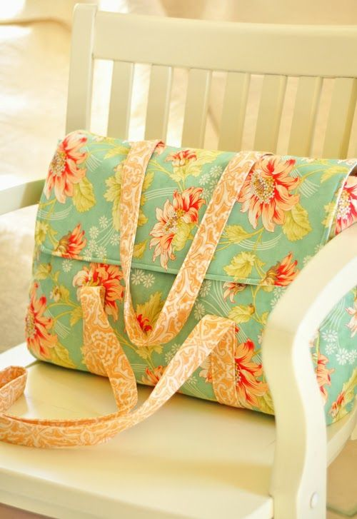 One Piece Bag featuring Honeysweet by Fig Tree Quilts   Bag it ...