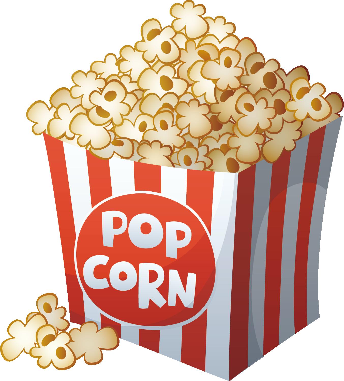 Popcorn Vector Cartoon Film Drawing Png File Hd Drawings Corn Drawing Popcorn