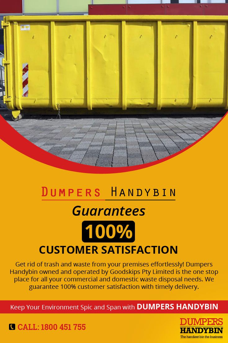 Get rid of trash and waste from your premises effortlessly