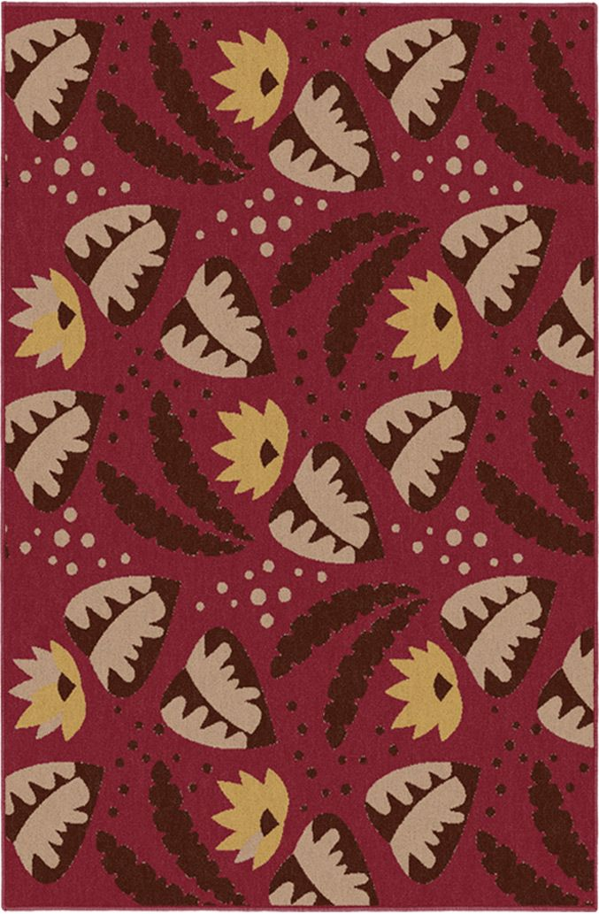 Tropical Fever The Mauna Indoor Area Rug Comes In 3 Sizes