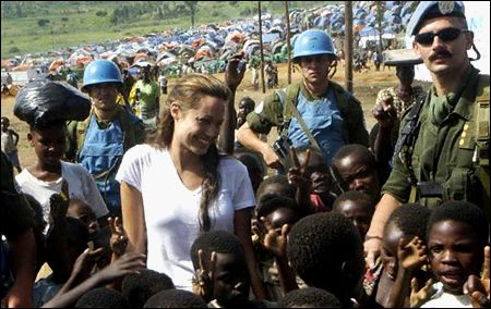angelina jolie charity work in africa