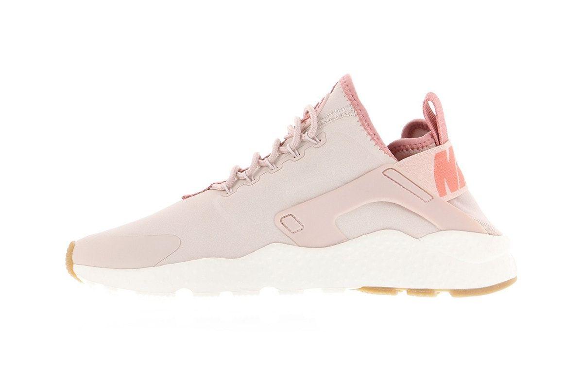 This Pink Nike Air Huarache Run Ultra Is Fit For A Sneaker Princess Nike Air Huarache Ultra Nike Air Huarache Nike Gear