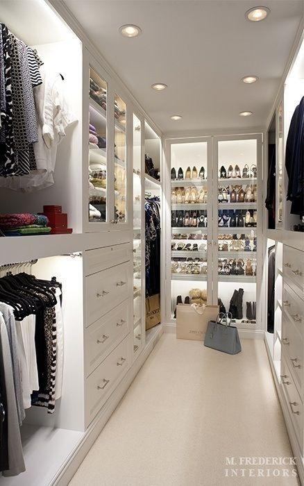 How to organize a closet for man