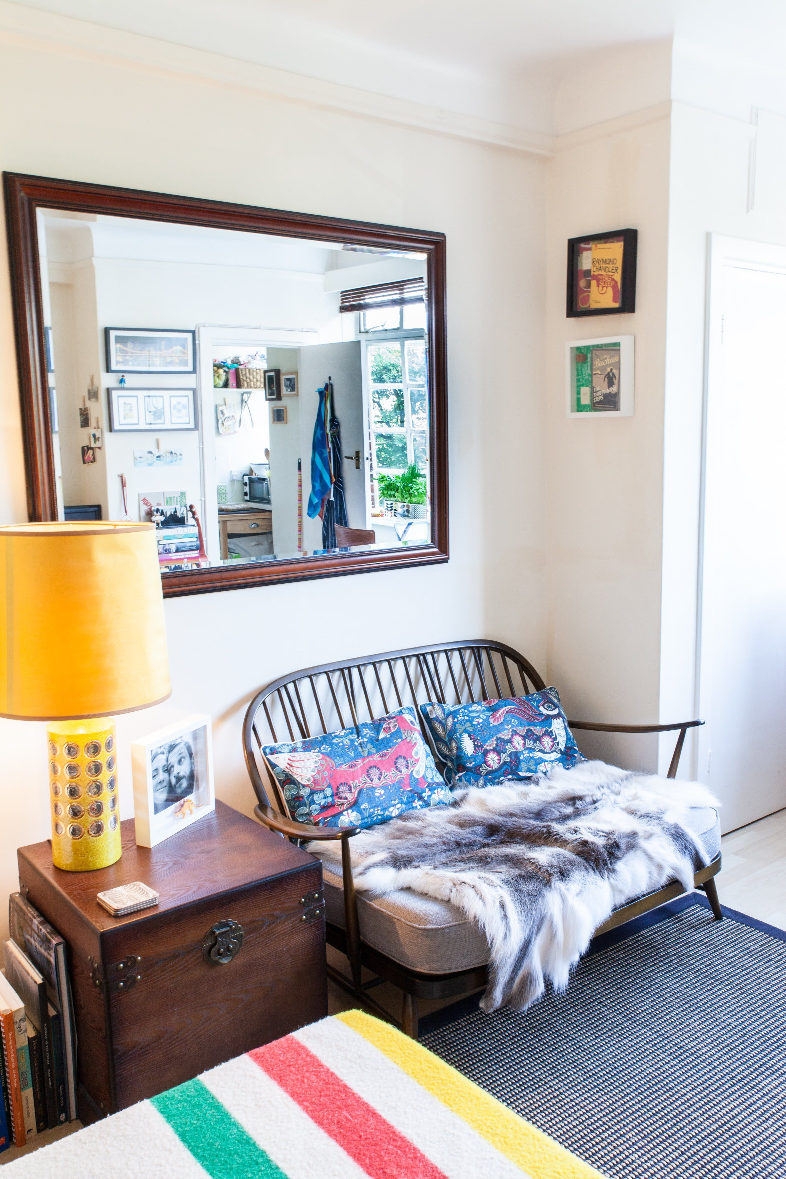 Small Space Solutions Living Room: A Tiny 270-Square-Foot Shared London Studio
