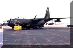 "AC 130A -- ""Exterminator""   I flew many missions on this one!!"