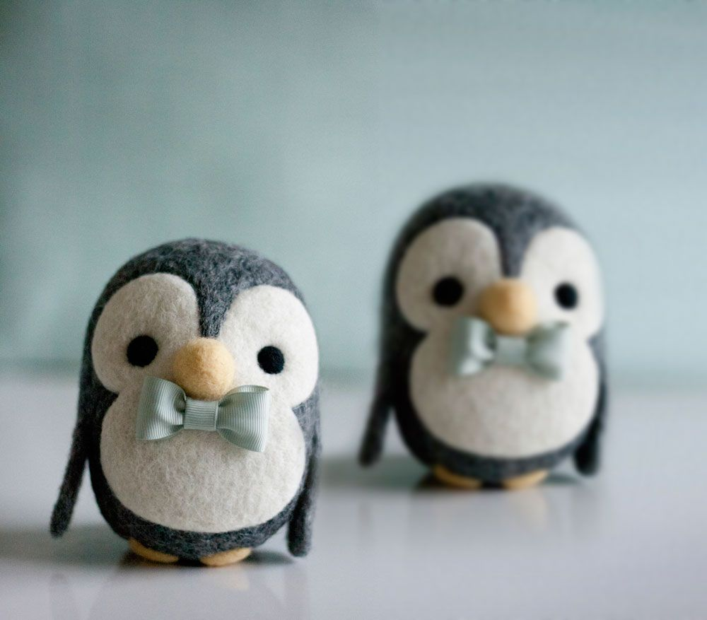 Photo of Needle felted penguin tutorial