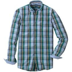 Photo of Olymp casual shirt, modern fit, button-down, green, S Olympolymp