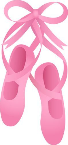 free clip art of pretty pink ballet shoes ballet shoes pinterest rh pinterest com ballet shoe clipart free ballet shoes clipart png