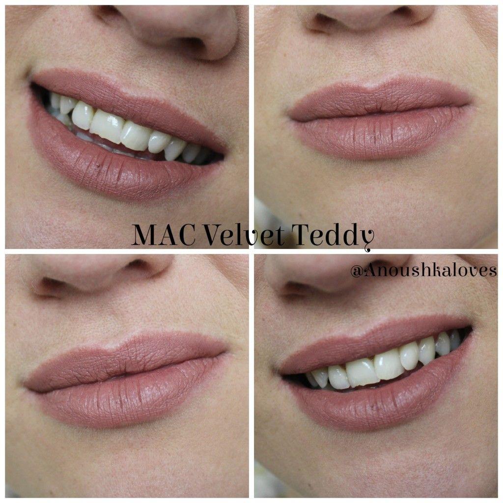 Lipstick week mac velvet teddy lipstick mac velvet