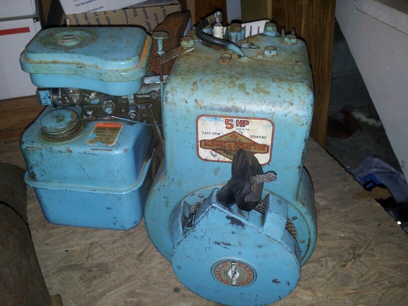 Briggs and stratton | Old Gas Engines | Mini bike, Small
