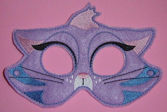 Adult Size Too Hissy Cat Hissy Kitten Puppy Dog Pals Cat Mask For Kids Dogs And Puppies Kitten
