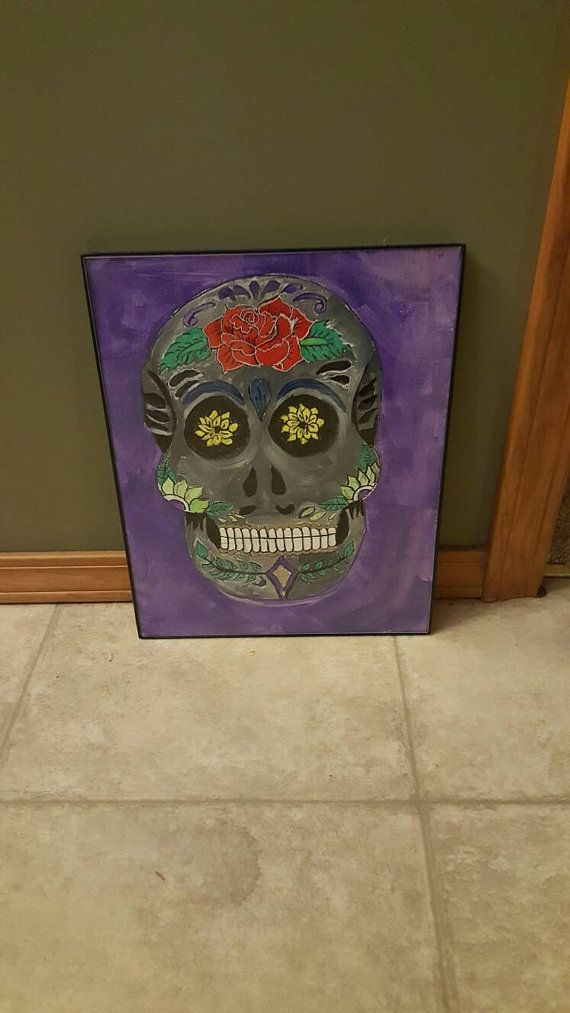 Check out this item in my Etsy shop https://www.etsy.com/listing/479321631/skull-painting