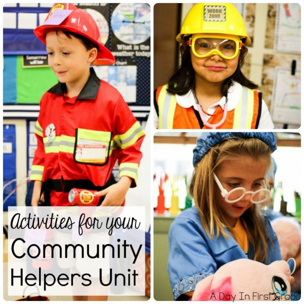 Community Helper Fun