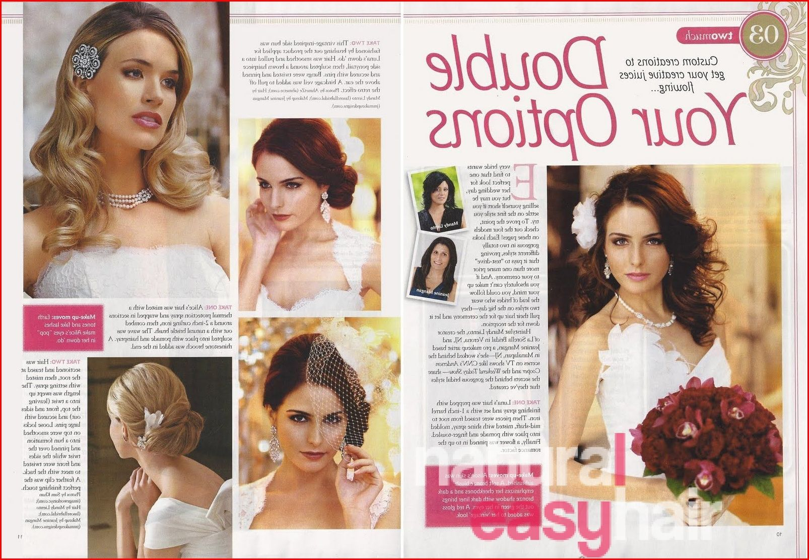 Bridal Hairstyle Magazine Inspiration Easy Natural Hairstyles In 2020 Hair Magazine Natural Hair Styles Easy Bridal Hair