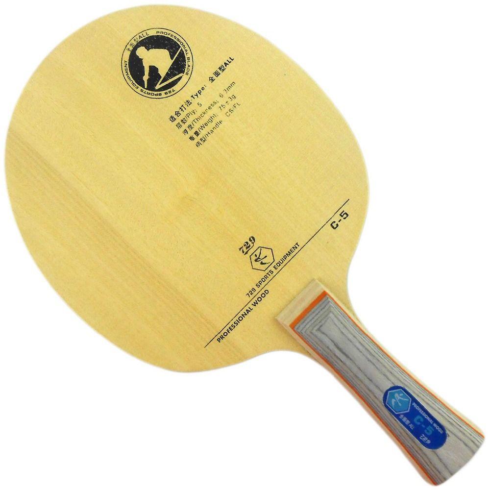 Ritc 729 Friendship C 5 C5 C 5 Table Tennis Pingpong Racket Table Tennis Table Tennis Racket Ping Pong