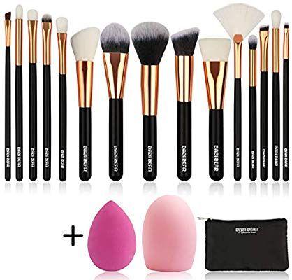 pinjulia secundino on make  makeup brush set makeup