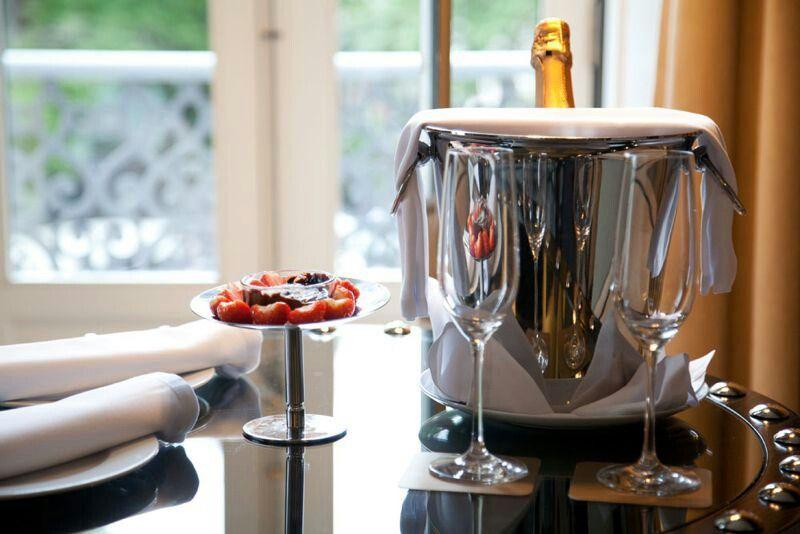 Morangos, Chocolate e Champagne