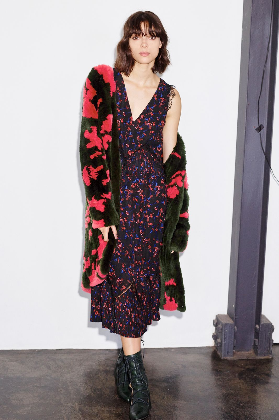 24 Outfits That'll Last Beyond The Holidays  #refinery29  http://www.refinery29.com/thakoon-new-holiday-collection-photos#slide-10  Now, this is a coat that makes us want to face the cold....