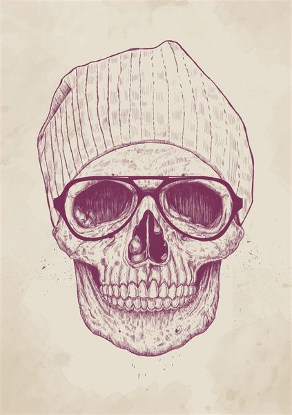 Calaveras Hipsters Tumblr Imagui Tattoos Arte Arte Hipster Y