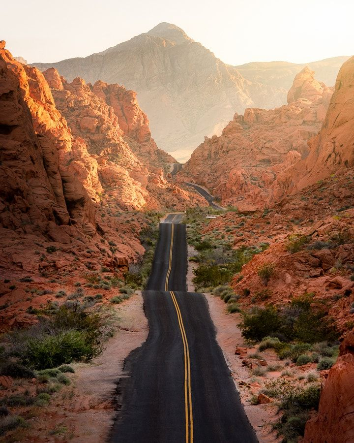 Us Road Trip Ideas: Valley Of Fire (Nevada) By Mindz.eye / 500px