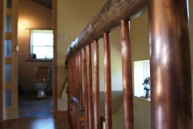 Best Copper Driftwood Handrail Escaleras 400 x 300